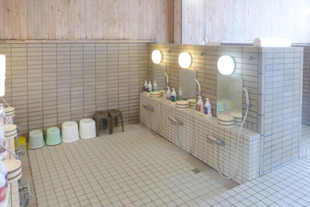 温泉センター 美人の湯・渡瀬温泉 - わたぜおんせん -の洗い場