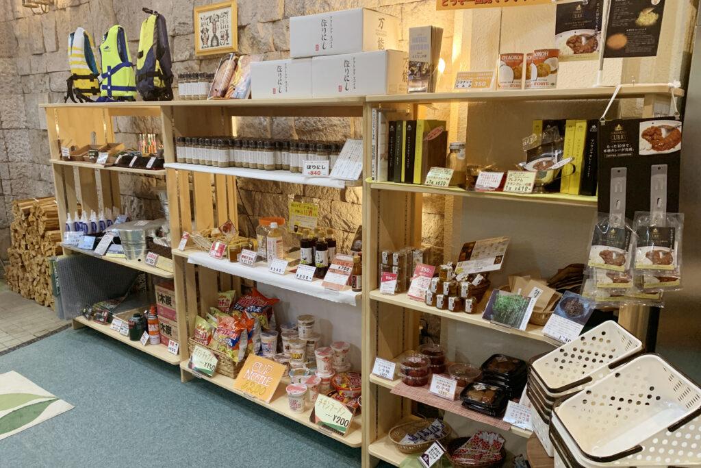 和歌山県熊野本宮「おとなしの郷」WATAZE OUTDOORの売店